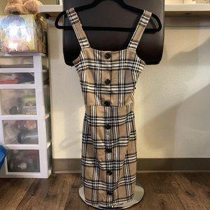 River Island Tartan Dress